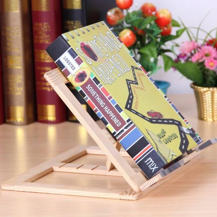 [Hare.D] 閱讀書架 原木 閱讀架 琴譜架 食譜架 書本支撐架 練琴架 書擋 書架 讀書架 桌上看書架