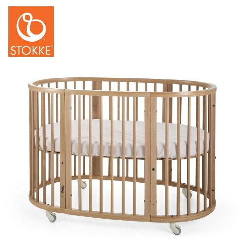 【獨家贈床包】挪威【Stokke】Sleepi 嬰兒床- 中床 (3色)