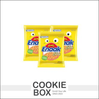 韓國 Enaak 重量包 大雞麵 香脆點心麵 (單包) 30g 脆麵 小雞 點心麵 小雞麵 大包 零食 *餅乾盒子*