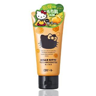 【HelloKitty】乾燥對策保濕洗面乳(柚子蜂蜜)