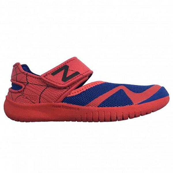 NewBalance童鞋小童涼鞋休閒Marvel聯名款蜘蛛人紅藍【運動世界】KA208SMI