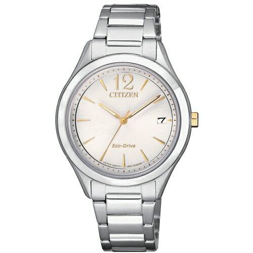 CITIZENLADY'S簡約優雅光動能腕錶FE6124-85A