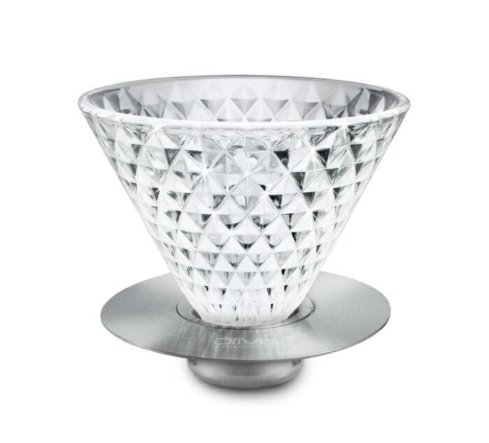 微聲咖啡  Driver 鑽石濾杯 2~4 cup  GB~GS818