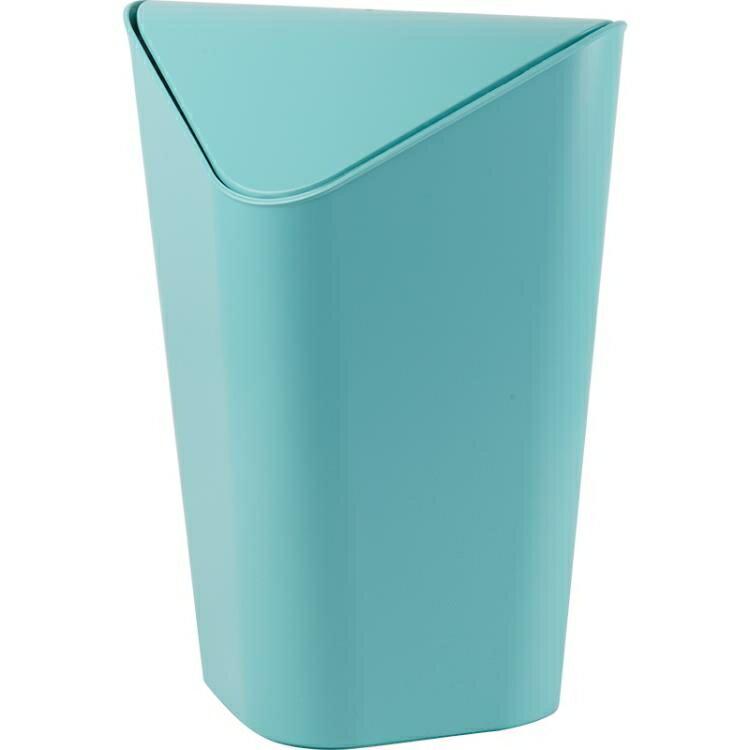 台灣現貨 垃圾桶家用帶蓋臥室壓圈方衛生間客廳搖蓋 新年鉅惠