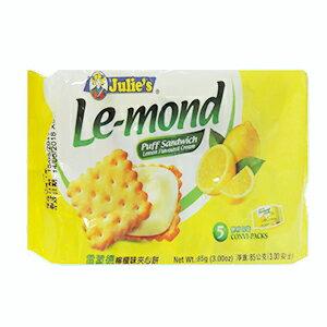 【Julies茱蒂絲】雷蒙德檸檬味夾心餅(85g)