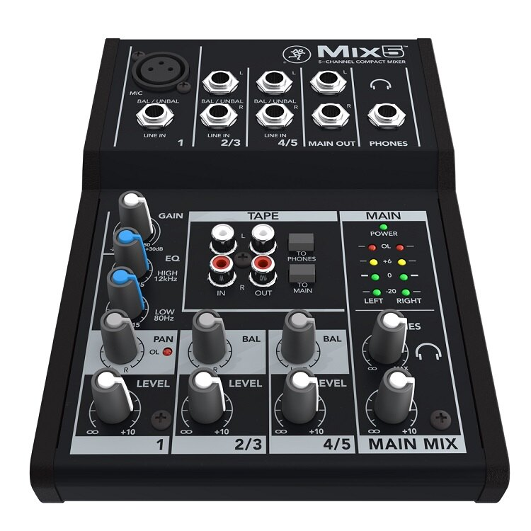 ::bonJOIE:: 美國進口 Mackie Mix5 混音器 (全新盒裝) Mix Series 5-Channel Mixer console Mix 5