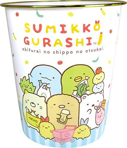 角落生物 Sumikko Gurashi 塑膠垃圾桶,垃圾筒/雜物桶/水桶/分類桶/資源回收桶/廚餘桶,X射線【C094493】