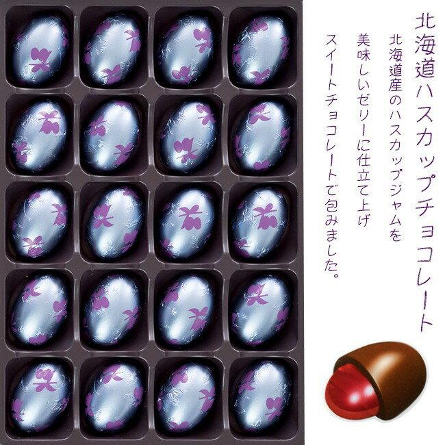【KCC】北海道藍靛果夾心巧克力20顆入 巧克力禮盒 160g Hokkaido Haskap Chocolate 日本進口零食 3.18-4 / 7店休 暫停出貨 2