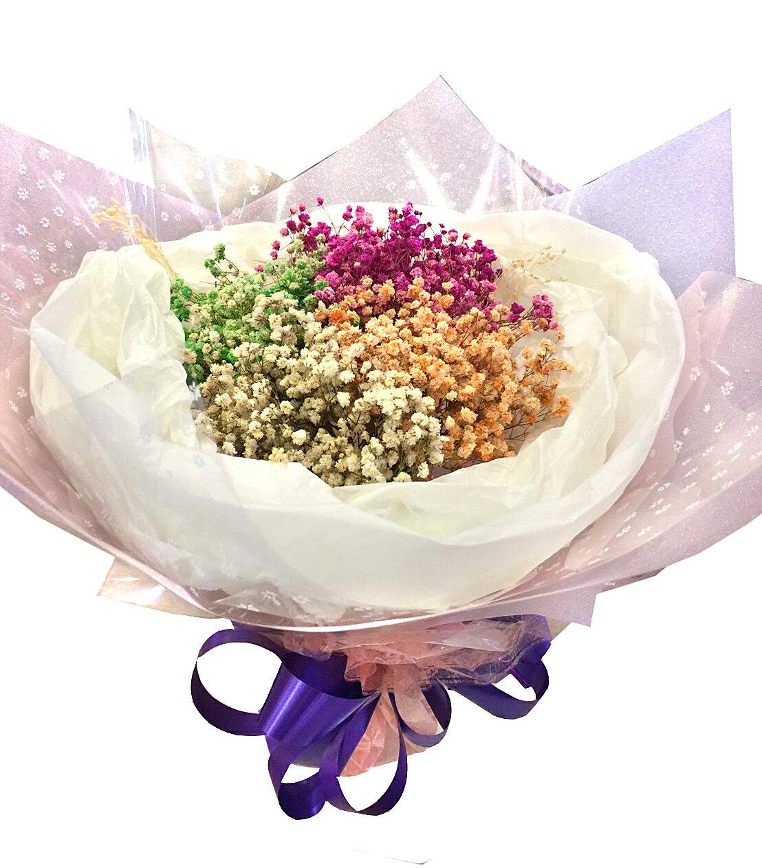 X射線【Y040018】乾燥花束,滿天星/捧花/情人節禮物/婚禮/求婚/送禮/畢業禮物/母親節