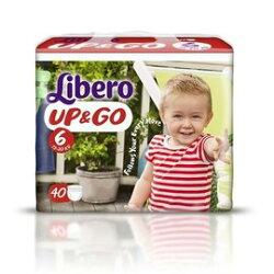 麗貝樂 Libero 褲型紙尿褲(拉拉褲)XL 6號-40片x6包 3594元