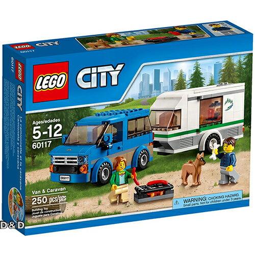 樂高積木LEGO《 LT60117 》2016 年 CITY 城市系列 - 篷車與露營車