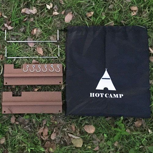 ├登山樂┤韓國 HOT CAMP 多功能伸縮料理桌配件-高級鋁合金爐架(1組2入) # HC809