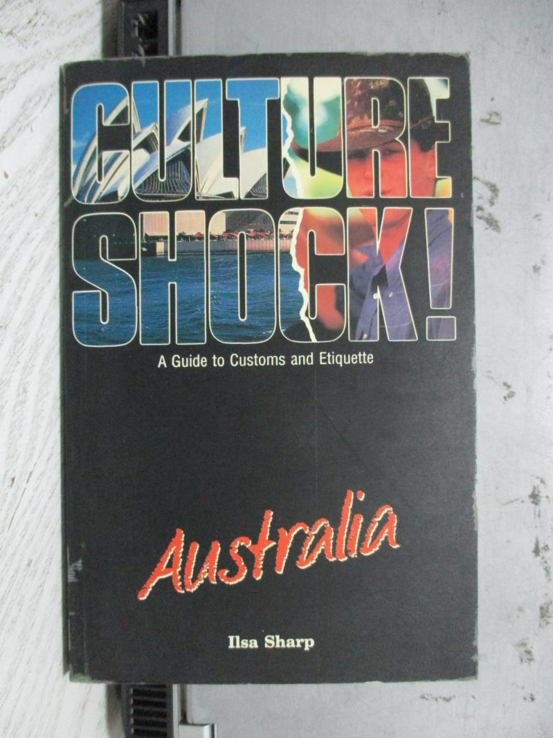 ~書寶 書T3/原文書_NBH~Culture shock^! Australia_Ils