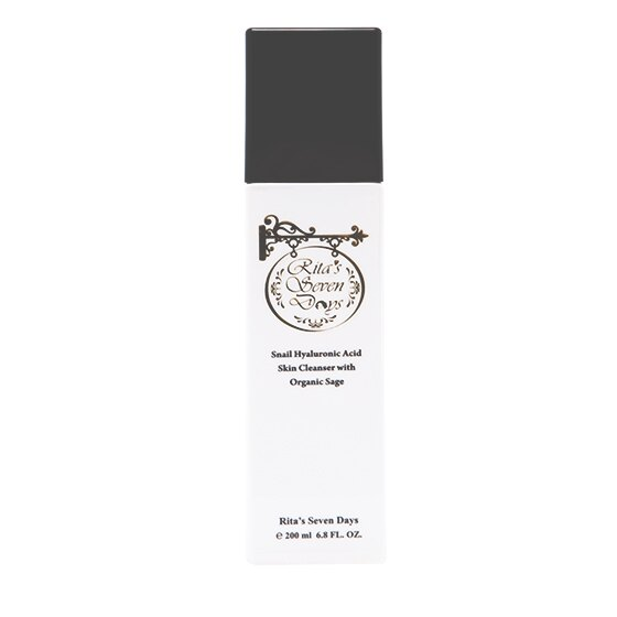 芮塔美麗星期 鼠尾草蝸牛玻尿酸洗卸潔膚液   Snail Hyaluronic Acid Skin Cleanser with Sage
