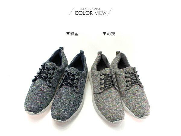 ☆BOY-2☆【NKP-RP07】休閒鞋 混色織紋慢跑鞋 1