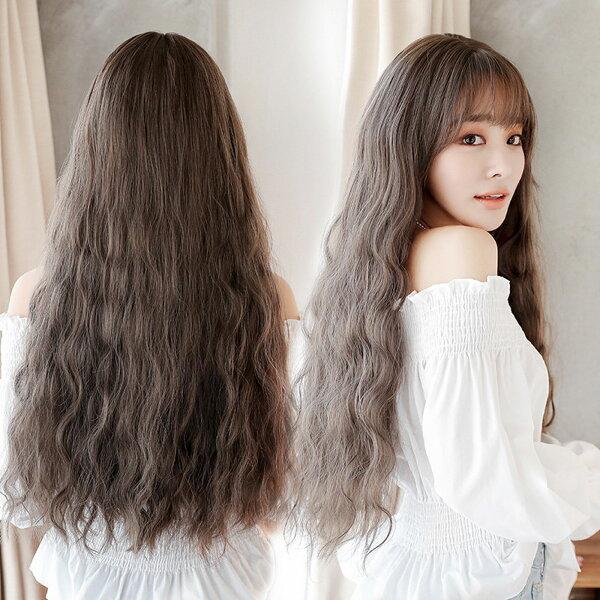 擬真韓系假髮耐熱長捲髮超美玉米鬚泡麵捲髮洋娃娃假髮【MA491】☆雙兒網☆