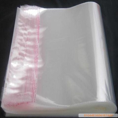 『批發價』OPP透明包裝袋 多功能平口袋自黏袋/帶12*30cm (100入)