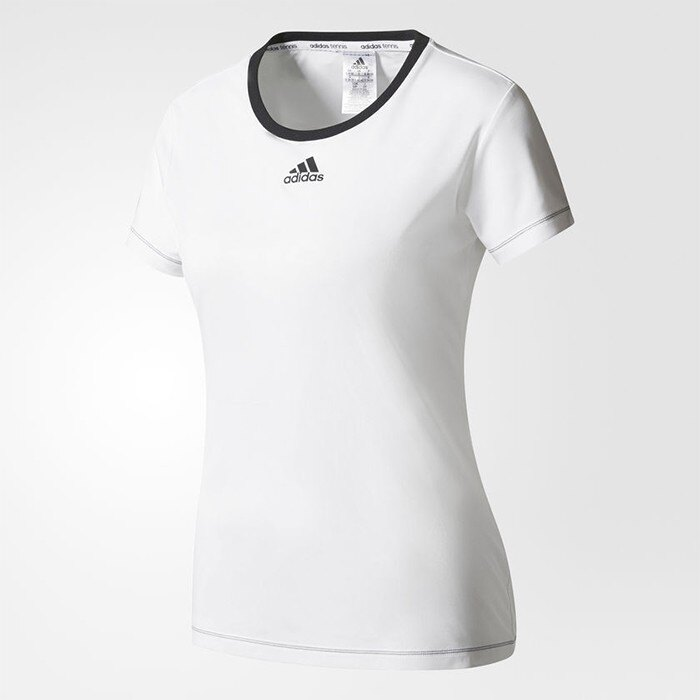 ADIDAS 18FW 女款 網球上衣 圓領 Aspire Tee系列 AZ4081【樂買網】