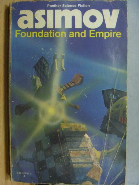 【書寶二手書T3/原文小說_MRP】asimov_Foundation and Empire