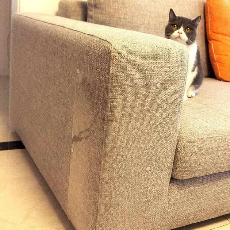 沙發床鋪防貓抓貼 4片裝 S號 39x14cm 家具牆角桌角保護貼 防抓防刮 耐磨防水貼【ZI0213】《約翰家庭百貨 9