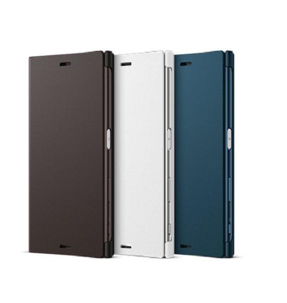 Xperia™ XZ 《原廠》 專用可立式時尚保護殼 SCSF10-鉑爵銀
