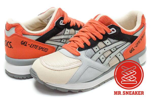 ☆Mr.Sneaker☆ASICSTigerGEL-LYTEIIIH614N1313日本花園橘色榻榻米男女段