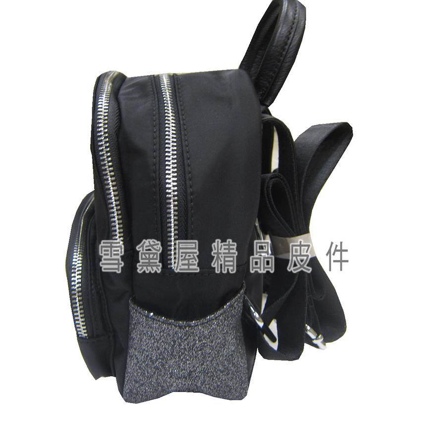 限時 滿3千賺10%點數↘ | ~雪黛屋~COUNT 後背包超小型容量主袋+外袋共四層進口防水尼龍布+皮革材質二層主袋BCD50002501160