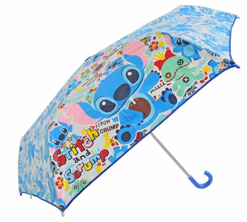 Disney 迪士尼 勾勾傘/彎頭傘/晴雨傘 史迪奇 正版授權 *夏日微風*