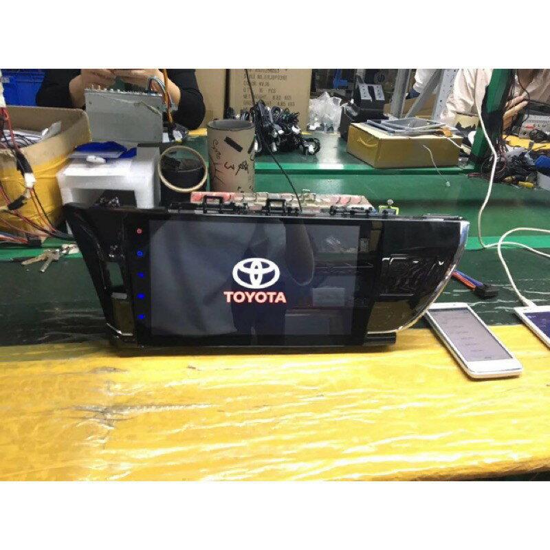 Toyota altis阿提斯 安卓版螢幕主機 2014~2016年9寸 平板 上網