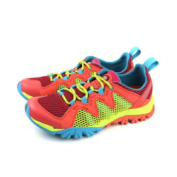 MERRELLTETREXRAPIDCREST運動鞋多功能鞋桔色多色女鞋ML12858no893