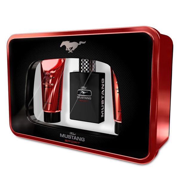 FORD MUSTANG 福特野馬 SPORT 運動男性淡香水禮盒 贈隨機針管《Belle倍莉小舖》