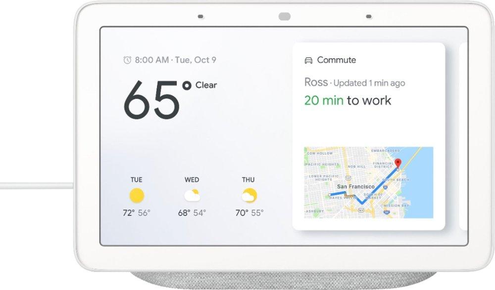 Get It Speedy: Google Home Hub with Google Assistant Chalk   Rakuten com