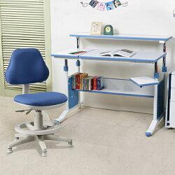 《C&B》第五代創意小天才兩件組-90cm調節桌+天才家成長椅