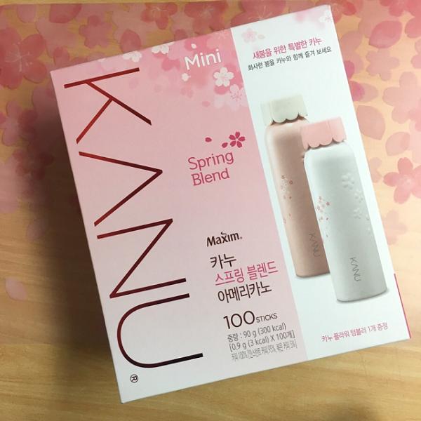 韓國DongSuhMaximKANUSpring特調美式咖啡(春天限量版)90g(9g×100包)