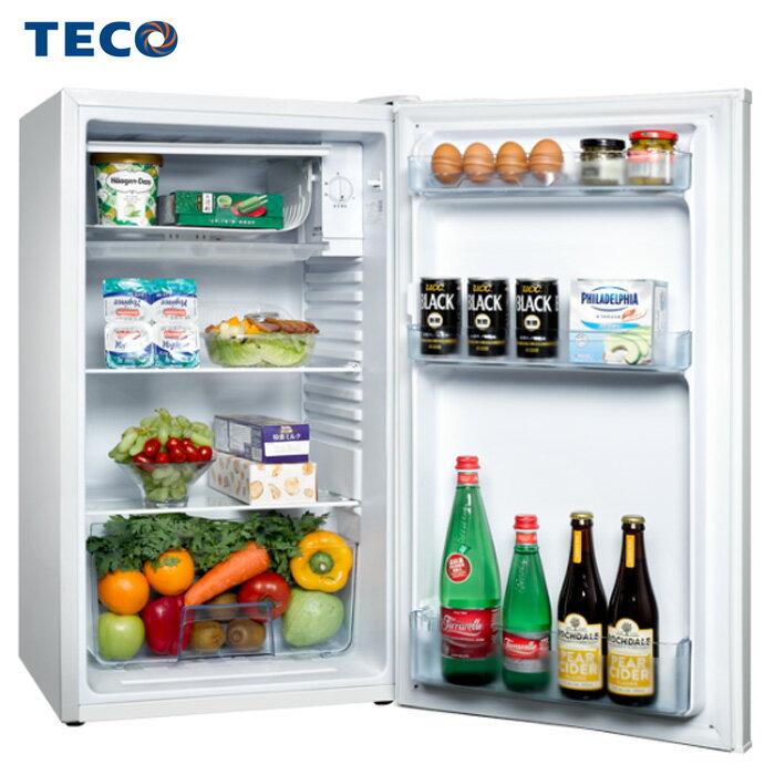 TECO 東元 R1091W 冰箱 99L 單門 小鮮綠系列 1