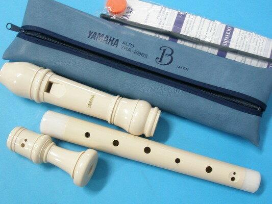 YAMAHA 山葉中音直笛 YRA-28BIII YAM直笛(日本製)/一組入{促920}~高