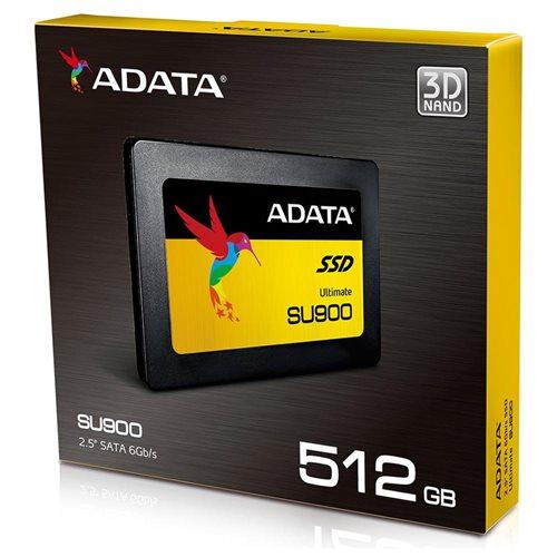 "ADATA Ultimate SU900 3D MLC NAND SATA-III 2.5"" Internal SSD 512GB (ASU900SS-512GM-C) 1"