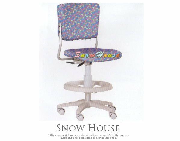 ╭☆雪之屋居家生活館☆╯A258-03 ST-03C多功能學童椅/兒童電腦椅/氣壓升降/PU壓力輪(藍色)