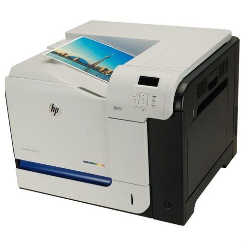 HP LaserJet 500 M551N Laser Printer - Color - 1200 x 1200 dpi Print - Plain Paper Print - Desktop - 33 ppm Mono / 33 ppm Color Print - A4, RA4, A5, B5 (JIS), B6 (JIS), A6, B5 Envelope, C6 Envelope, C5 Envelope, DL Envelope, ... - 600 sheets Standard Input 3