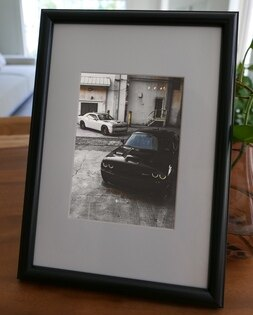 聚鯨Cetacea﹡Art【KLFZ-0155】speed速度sportscar跑車classic經典畫框相框