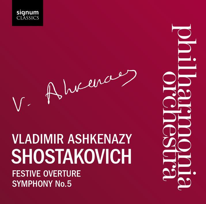 signum 阿胥肯納吉(Vladimir Ashkenazy)/蕭士塔柯維契:第5號交響曲「革命」、慶典序曲(Shostakovich: Symphony No.5, Festive Overtur..