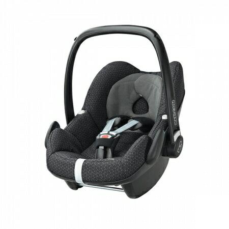 【贈原廠提籃雨罩 】荷蘭【Maxi-Cosi 】Pebble 新生兒提籃(汽車安全座椅)(頂級款)-5色(黑-2月中到貨) 2