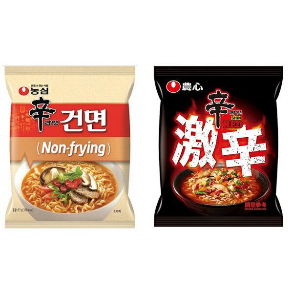 【豆嫂】韓國泡麵 農心 辛拉麵(單包)(原味/非油炸/激辛)