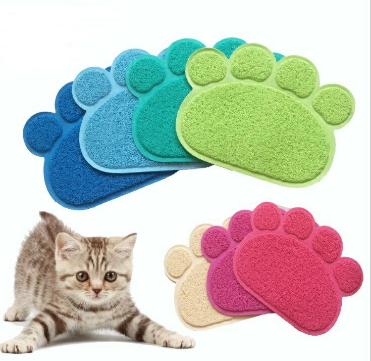 【H00929】寵物貓砂墊子 貓咪落沙墊 防滑地墊 腳踏墊 地毯 地墊 顏色隨機出貨