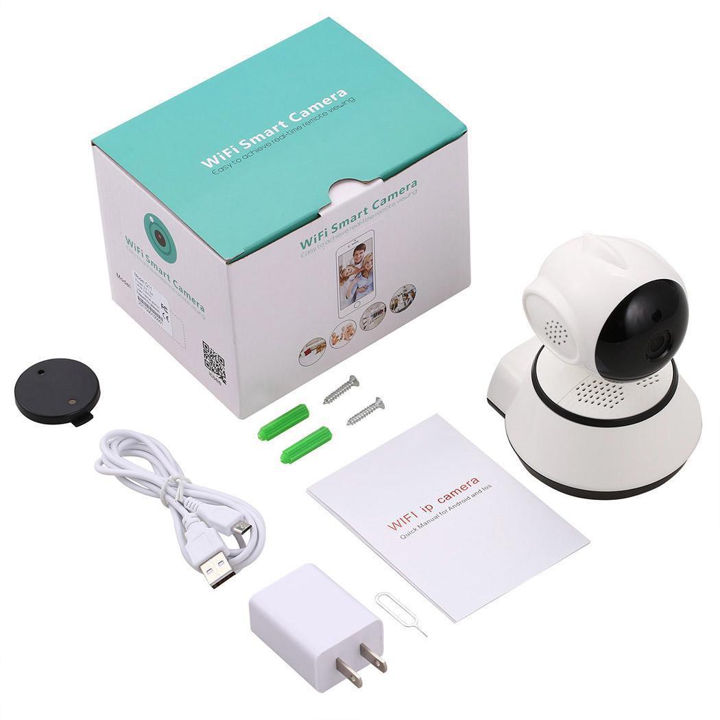 WiFi Baby Monitor Alarm Security Camera HD 720P IR Night Vision 4