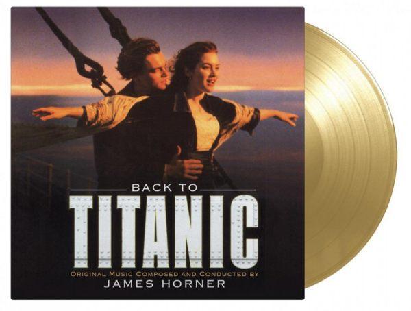 【停看聽音響唱片】【黑膠LP】重回鐵達尼號 電影原聲帶 首批 金色彩膠(2LP)