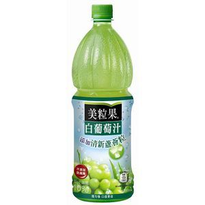 美粒果 白葡萄汁蘆薈粒 1250ml