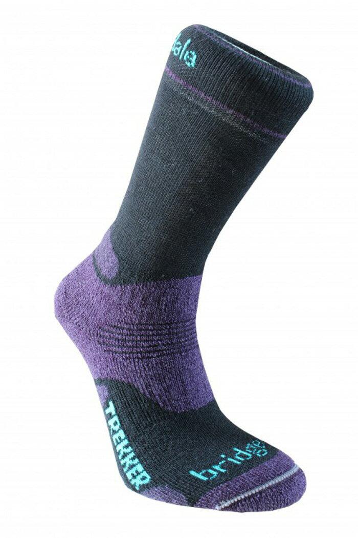 【鄉野情戶外專業】 Bridgedale |英國| Trekker中厚高筒羊毛襪 / 登山排汗襪 / 保暖襪 女款 644-016