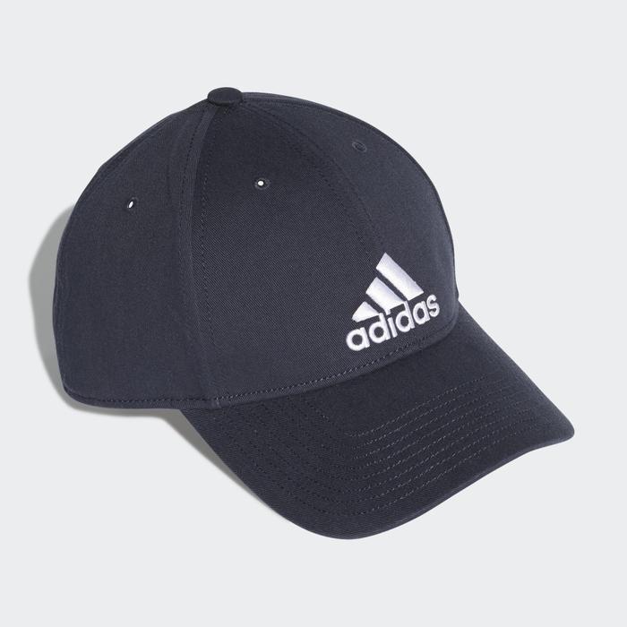 【毒】adidas 6P CAP COTTON 深藍色 小LOGO 老帽 DT8563