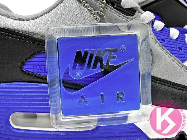 2020 經典復刻慢跑鞋 OG 版型 NIKE AIR MAX 90 白灰黑 寶藍 網布 絨毛面 大氣墊 慢跑鞋 (CD0881-102) 0120 4